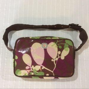 """Fleurville """"Escape Pod"""" diaper bag! Floral print"""